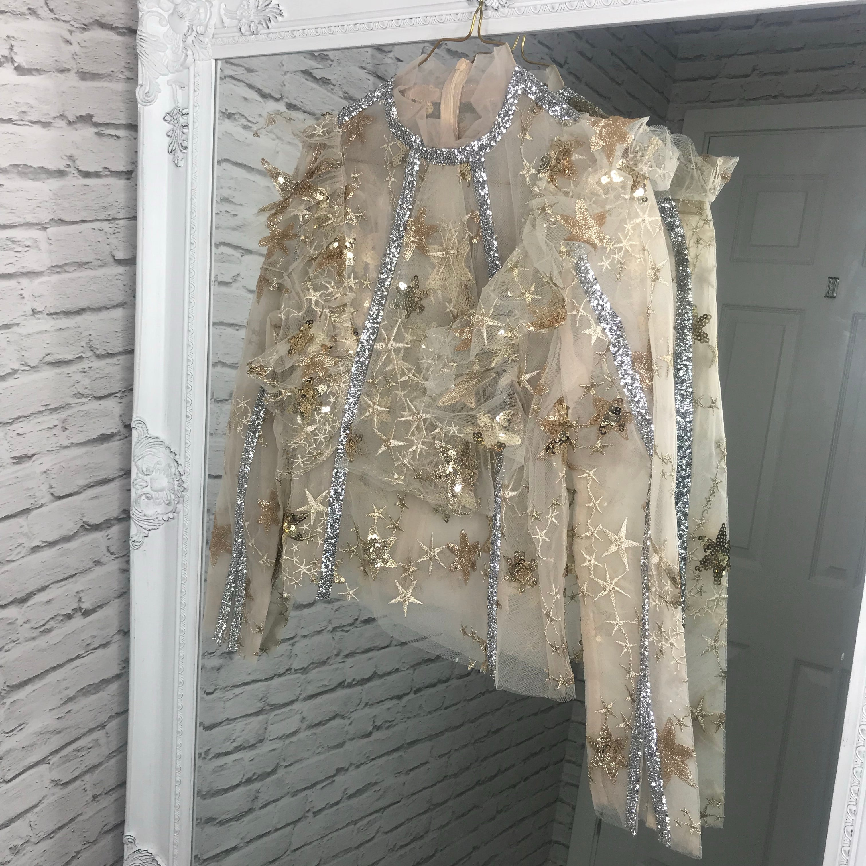 Gold Embellished Blouse