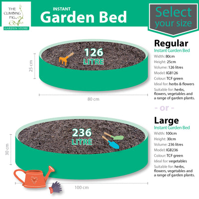Instant Raised Garden Beds. Simple quick setup. For flowers, herbs, & vegetables