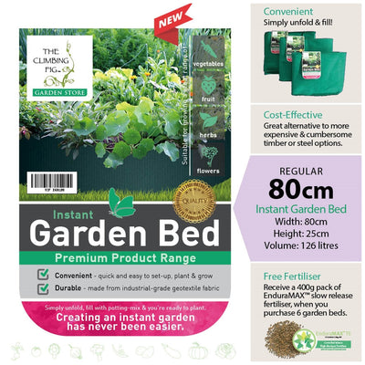 80cm Instant Raised Garden Bed