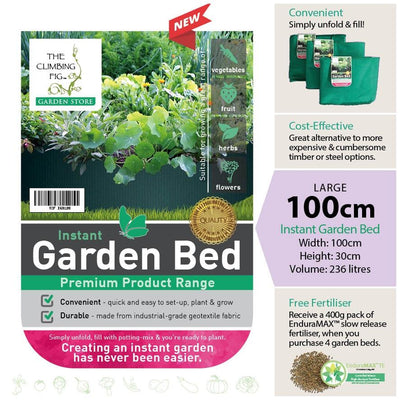 100cm Instant Raised Garden Bed