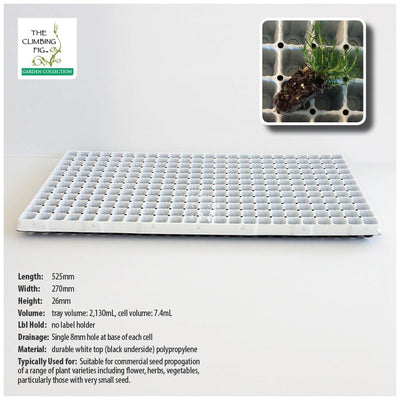 288-Cell Seedling Plug Tray White