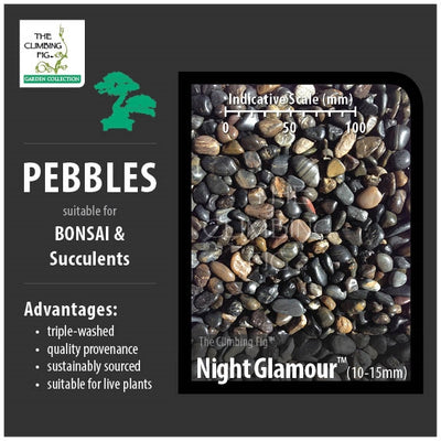 Night Glamour 10-15mm Pebbles
