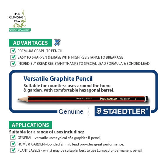 Staedtler Tradition Graphite Pencil B Lead