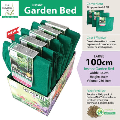 Instant Raised Garden Bed - Large (100cm, 236 Litres)