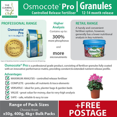Osmocote Pro 12-14 Month Controlled Slow Release High-Analysis Fertiliser