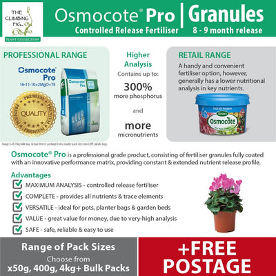 Osmocote Pro 8-9 Month Controlled Slow Release High-Analysis Fertiliser