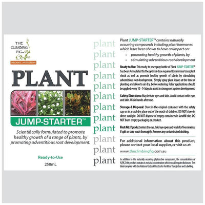 PLANT Jump-Starter 250ml Bottle. Assists with healthy transplant & establishment