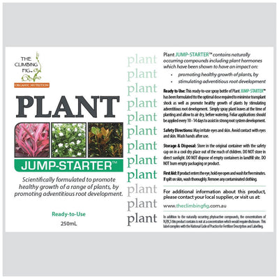 PLANT Jump-Starter Bottle. Assists with healthy transplant and establishment