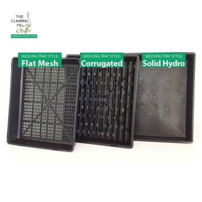 SOLID HYDRO Seedling Trays. Fits propagation punnets, tubes, pots, jiffy pellets