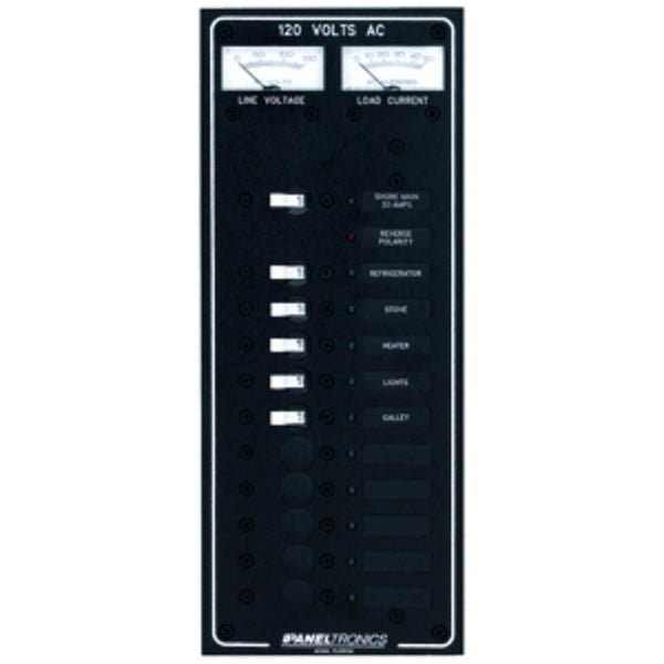 Paneltronics Standard Ac 10 Position Breaker Panel & Main W-led