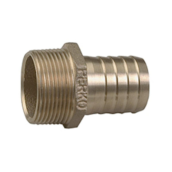 Perko 2-1-2 Pipe To Hose Adapter Straight Bronze Made In The Usa