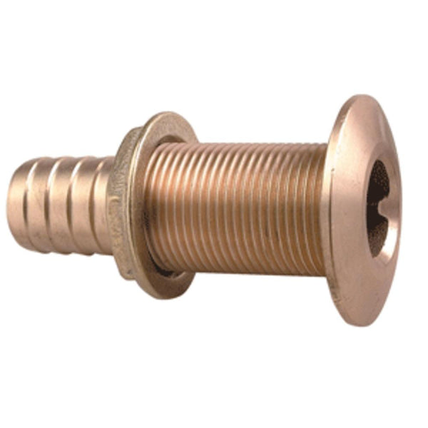 Perko 1-1-8 Thru-hull Fitting F- Hose Bronze Made In The Usa