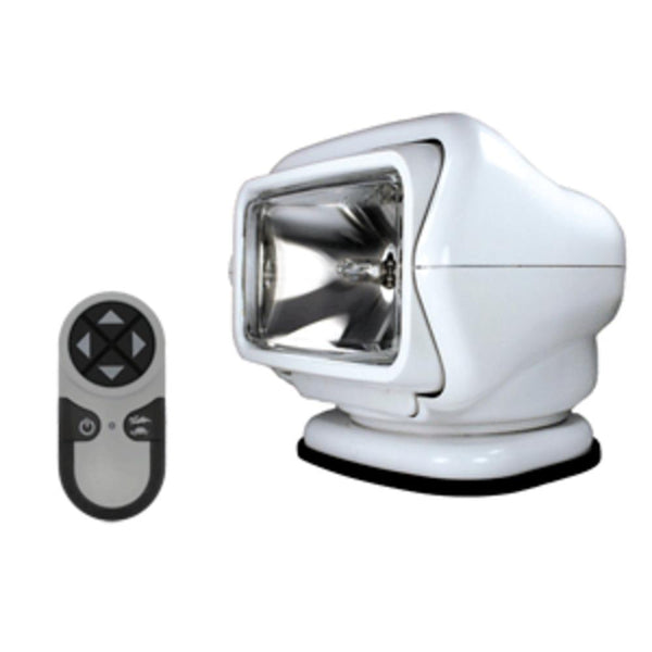 Golight Stryker Searchlight W-wireless Handheld Remote - Magnetic Base - White