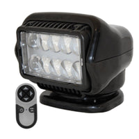 Golight Led Stryker Searchlight W-wireless Handheld Remote - Permanent Mount - Black