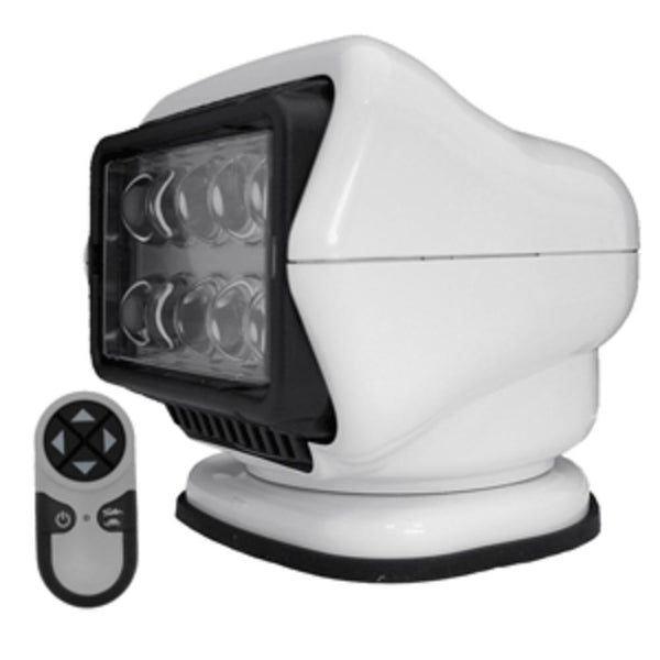 Golight Led Stryker Searchlight W-wireless Handheld Remote - Magnetic Base - White