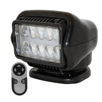 Golight Led Stryker Searchlight W-wireless Handheld Remote - Magnetic Base - Black