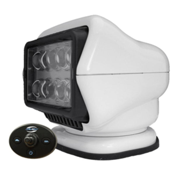 Golight Led Stryker Searchlight W-wired Dash Remote - Permanent Mount - White
