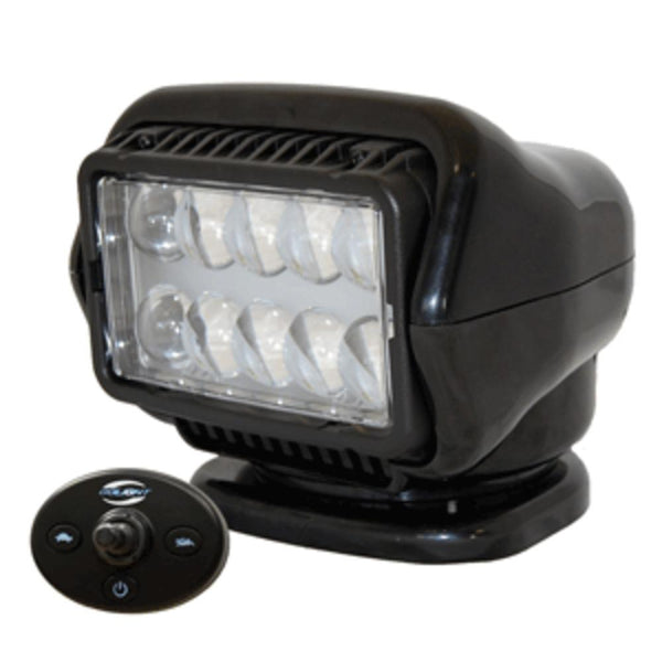 Golight Led Stryker Searchlight W-wired Dash Remote - Permanent Mount - Black