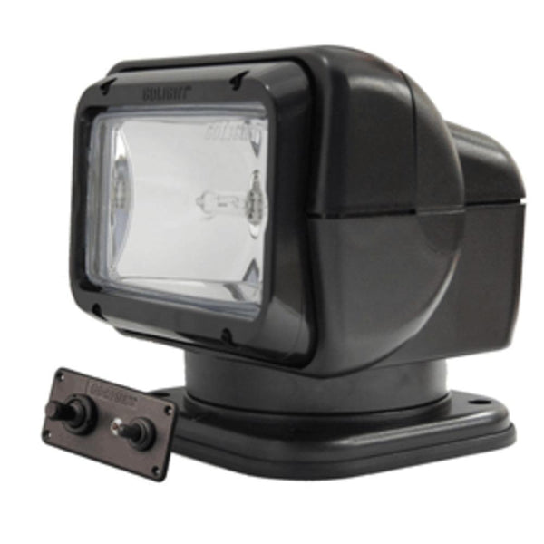 Golight Searchlight W-wired Dash Mount Remote - Permanent Mount - Black