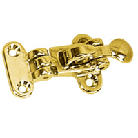 Whitecap Anti-rattle Hold Down - Polished Brass