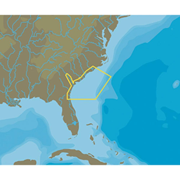 C-map Nt+ Na-c337 Wilmington To Jacksonville - Fp-card Format