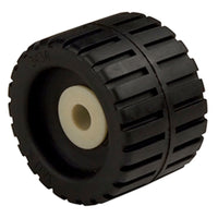 C.e. Smith Ribbed Wobble Roller 4-3-8 - 5-8id W-black Bushing