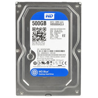 Western Digital Blue 500gb Sata-600 7200rpm 32mb Hard Drive