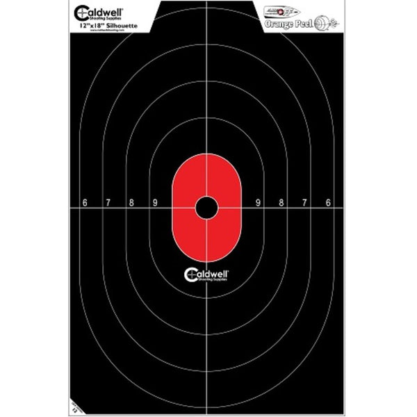 Caldwell Silhouette Center Mass Flake Off Target 8 Pk