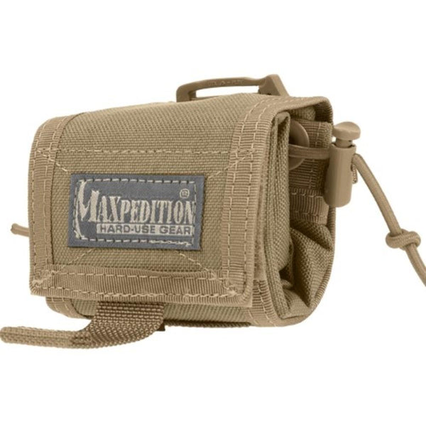 Maxpedition Rollypoly Mm Folding Dump Pouch Khaki