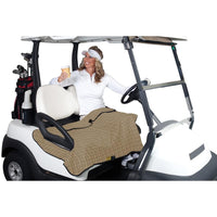 Classic Golf Cart Seat Blanket Plaid