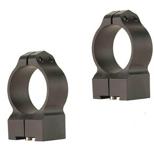 Warne 30mm Tikka Permanently Attached - High Matte Rings