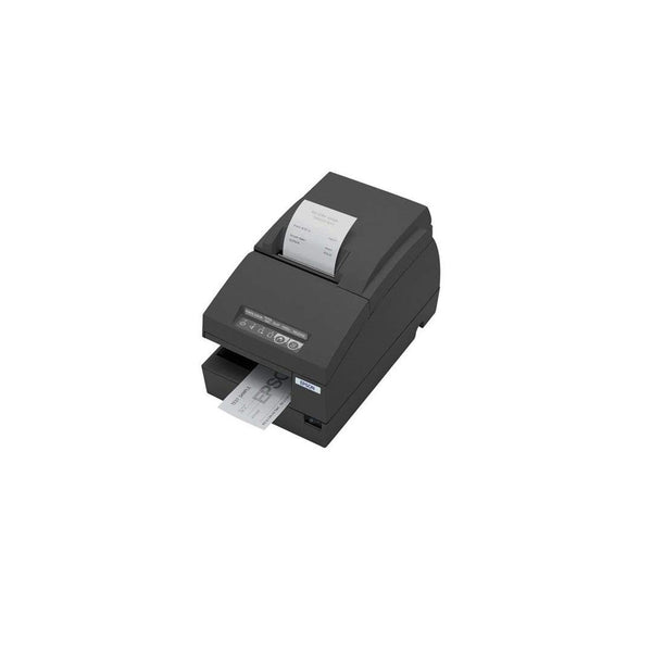 Epson Tm-u675 Dot Matrix Lan Ub-e04 Micr Dark Gray Receipt Printer C31c283a8551
