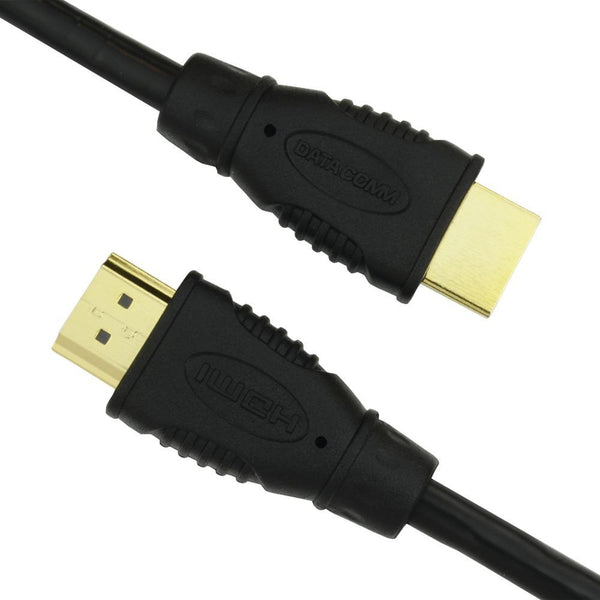 Datacomm Electronics 46-1003-bk 10.2gbps High-speed Hdmi Cable (3ft)