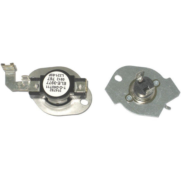 Napco N 197 (version Of 279816) Dryer Thermostat & Fuse Kit (whirlpool N197)