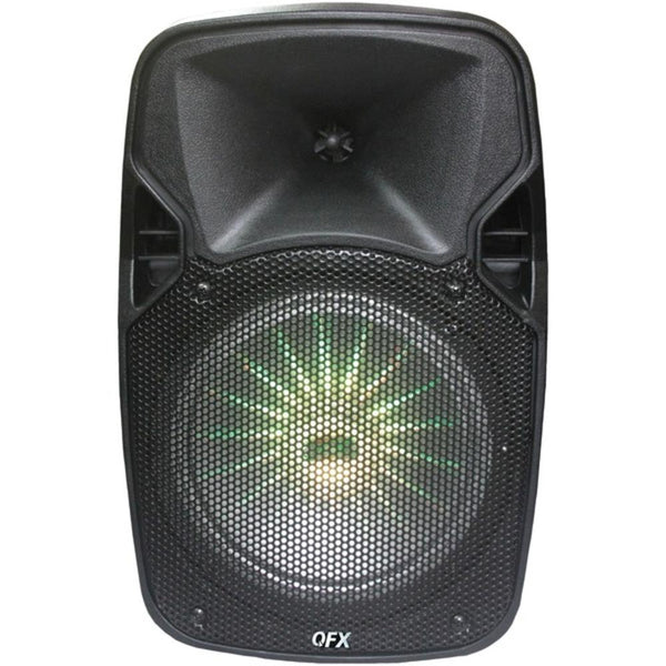 Qfx Pbx-811sm 8 Rechargeable Bluetooth Party Speaker