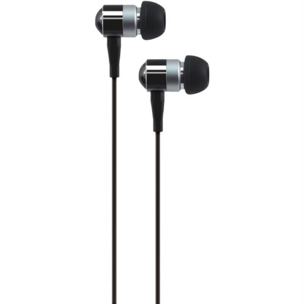 At&t Peb02-blk Peb02 In-ear Aluminum Stereo Earbuds (black)
