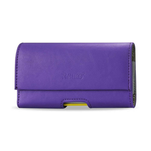 Horizontal Pouch Samsung Galaxy S Iii I9300 In Purple (5.38x36.2x32.4 Inches Plus)