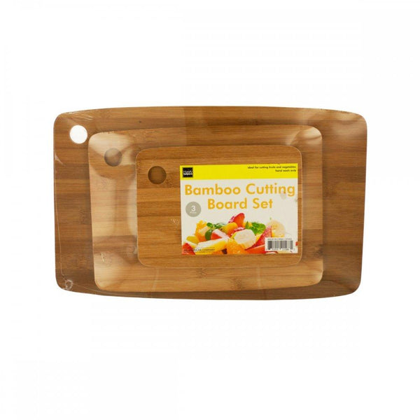 Bamboo Cutting Board Set Of444
