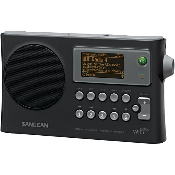 Sangean Wi-fi Fm-rds Network Music Player And Usb Portable Radio Sngwfr28