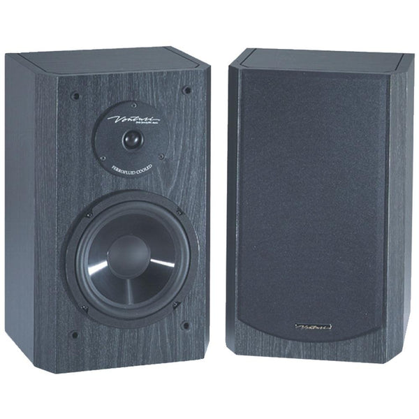 "Bic Venturi 6.5"" Bookshelf Speakers Bicdv62sib"