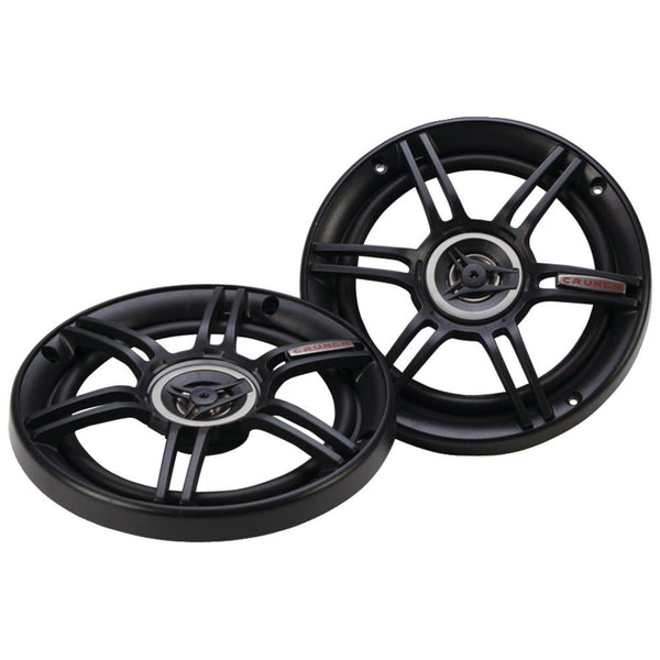 "Crunch Cs Series Speakers (6.5"" Shallow Mount, Coaxial, 300 Watts) Crucs65cxs"