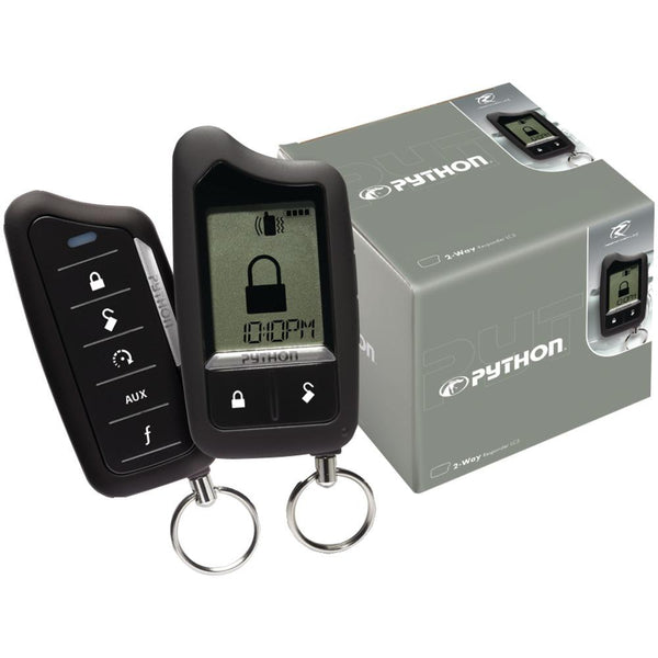 Python Responder Lc3 Sst 2-way Security And Remote-start System With 1-mile Range Dei5706p
