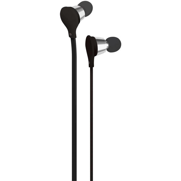 At&t Jive Noise-isolating Earbuds With Microphone (black) Wacebm01blk