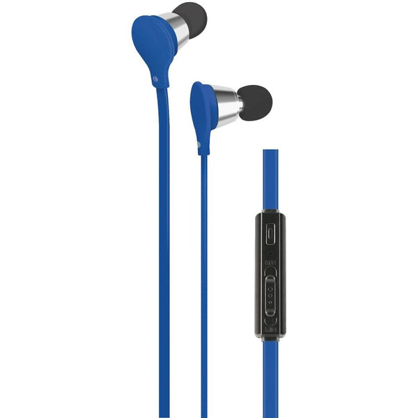 At&t Jive Noise-isolating Earbuds With Microphone & Volume Control (blue) Wacebv01blu