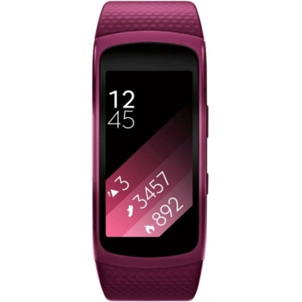 Samsung Gear Fit 2 Sm-r360 Smart Band - Wrist - Accelerometer, Pedometer, Barometer, Heart Rate Monitor, Gyro Sensor - Music Player - Sleep Quality, Heart Rate, Speed - Samsung Exynos1 Ghz Dual-core (2 Core) - 4 Gb - 512 Mb Standard Memory - 1.5 - 216 X