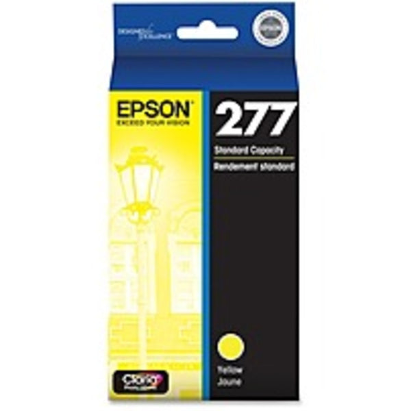 Epson Claria 277 Original Ink Cartridge - Inkjet - Standard Yield - 360 Pages - Yellow - 1 Each