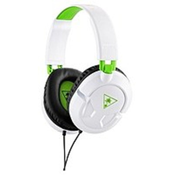 Turtle Beach Tbs-2304-01 Ear Force Recon 50x Wired Full Size Over-the-ear Gaming Headset For Xbox One - White