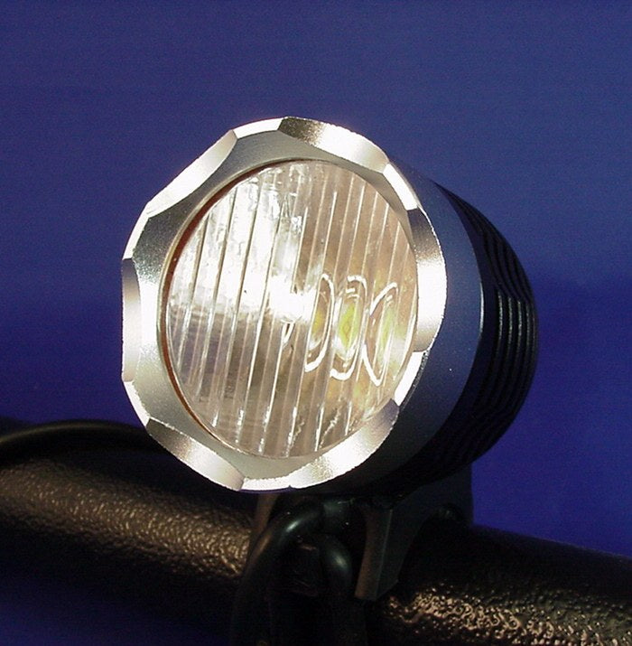 Wide angle lens for Cree XML T6 Bike Headlight includes O-Ring bicycle light