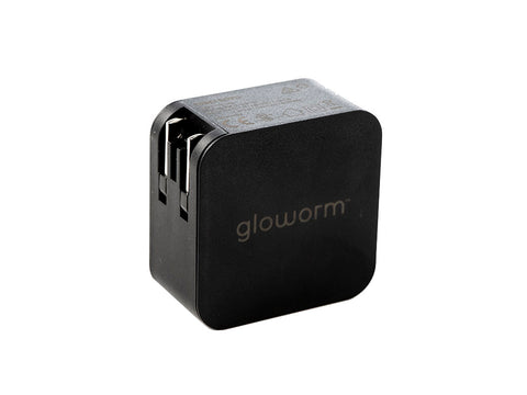 Gloworm Fast Charger uses USB-PD fast charging  protocol. Available in 20W and 45W, the USB C charger will charge up to 3x faster than the original Gloworm smart charger.