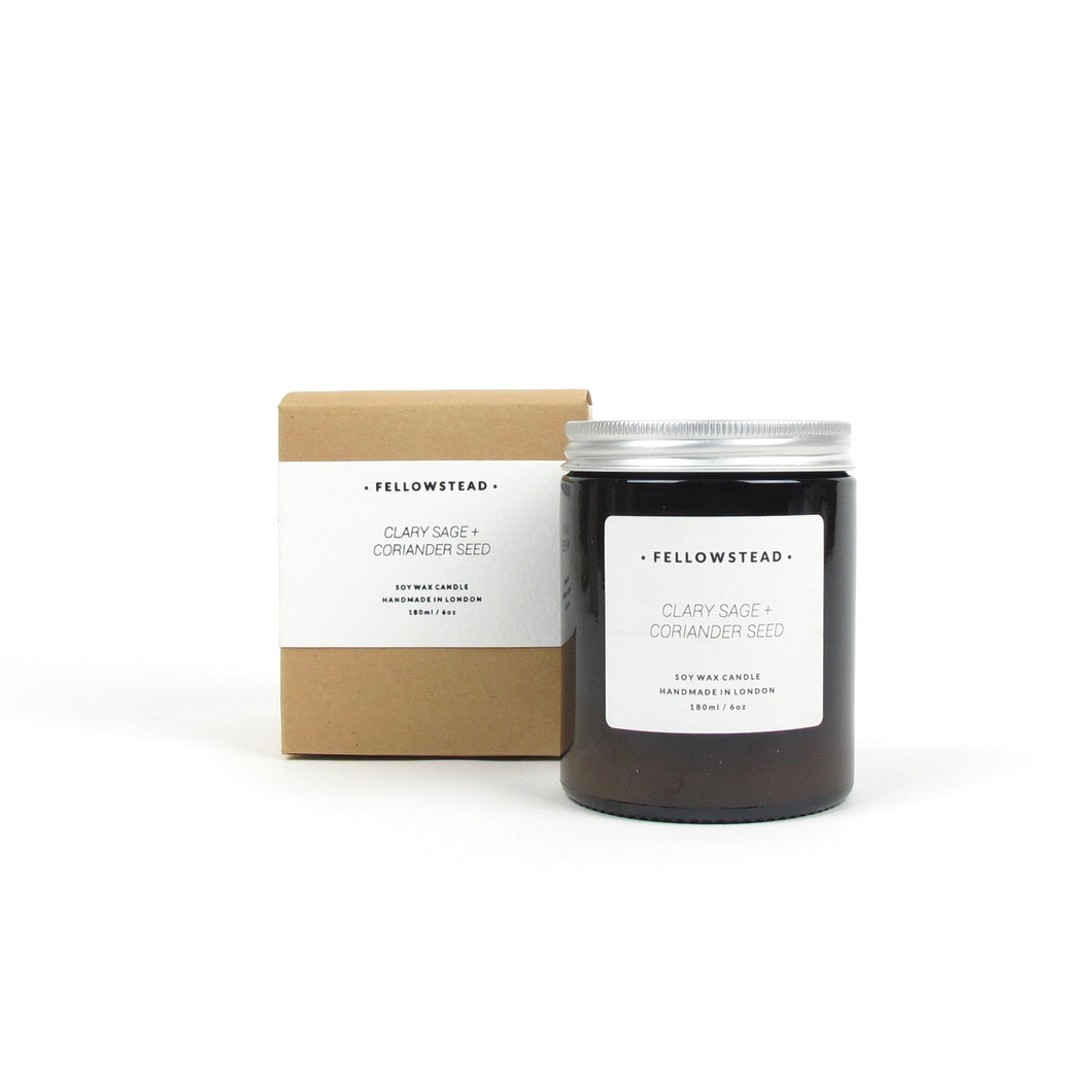 Fellowstead Clary sage + Coriander candle